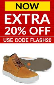 Up to 50% off & Extra 20% code on Timberland Boots eg Timberland Adventure 2.0 GTX Gore-Tex Waterproof Boots Now £55.99 @ Express Trainers