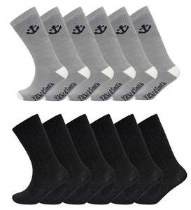 12 Pairs Of Men's Merino Wool Socks 6-11 (various colours) - £5.95 delivered @ rzk_textiles ebay