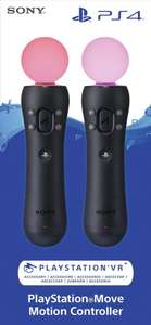 Sony PlayStation Move Controllers 2 pack £78.97 (or approx £76 fee free) Like New, Damaged Packaging @ Amazon Warehouse France