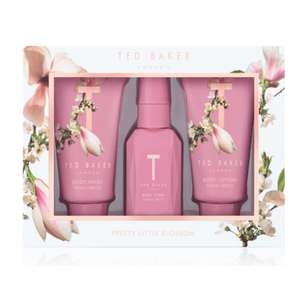 Ted Baker PEONY SPRITZ Mini Trio Box Gift Now Only £5 (+£1.50 C&C) at Boots Online