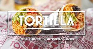 2 for 1 burritos for eat in after 5pm on Mondays in September @ Tortilla