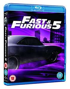 Fast Five Blu-ray £1.90 (+£2.99 Non Prime) @ Amazon