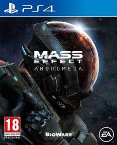 Mass Effect Andromeda (PS4) pre-owned - £3.68 with code delivered @ MusicMagpie