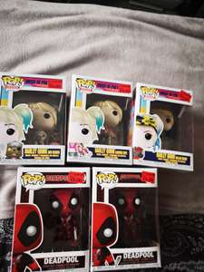 Deadpool and Harley Quinn Pop Funkos - £5 Instore @ Primark (Birmingham)