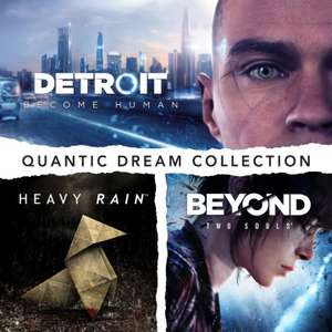 [PS4] Pack Quantic Dream Collection: Detroit: Become Human + Heavy Rain + Beyond: Two Souls (Store CA) - £10.65 @ PSN Store