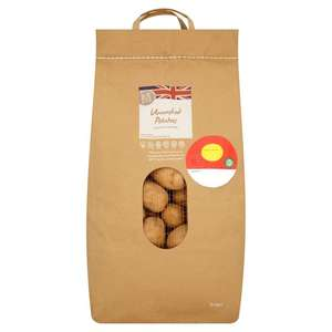 Morrisons Unwashed Potatoes 12.5kg £4 @ Morrisons