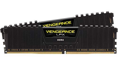 Corsair CMK16GX4M2B3200C16 Vengeance LPX 16 GB (2 x 8 GB) DDR4 3200 MHz C16 XMP 2.0 Desktop Memory Kit, Black - £54.98 @ Amazon