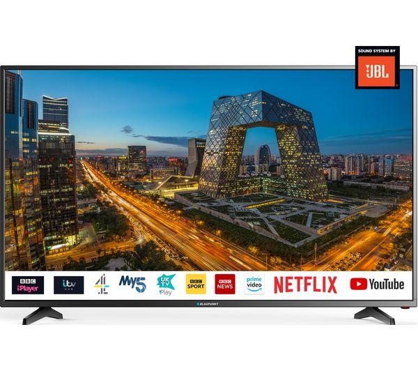 "Blaupunkt 50/405V-GB 50"" Smart LED TV 4K Ultra HD WiFi Freeview - £299 Instore Tesco Barhill"