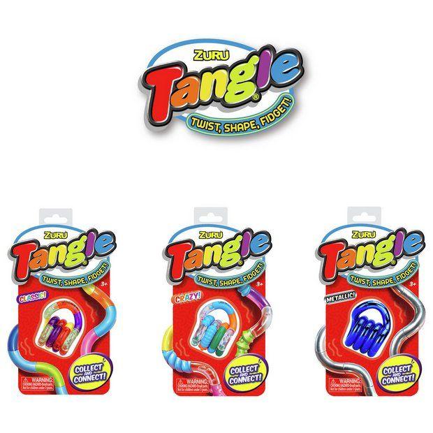 Zuru Tangle Fidget Toy - 3 Pack £2.50 (free click & collect or £3.95 p&p) @ Argos