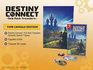 Destiny Connect: Tick-Tock Travellers Time Capsule Edition (Nintendo Switch Game) - £19.95 @ reefoutlet eBay