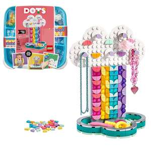 LEGO DOTS Rainbow Jewellery Stand DIY Craft Set - 41905 2 for £15 at Argos