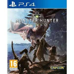 Monster Hunter World (PS4) £8.45 Delivered (USED) @ Music Magpie