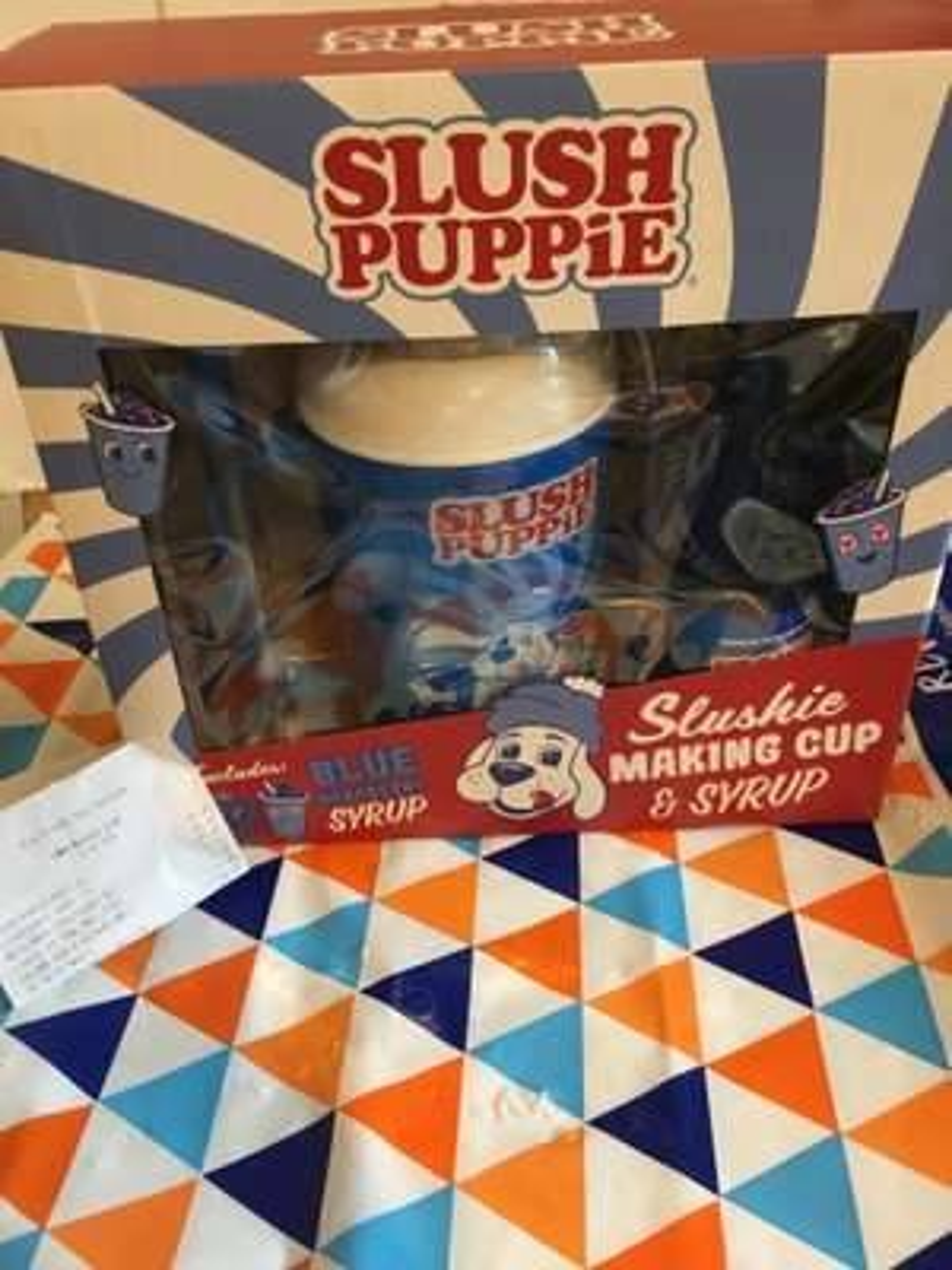 Slush Puppie slushie making cup and syrup gift set only £5.99 @ B&M (Cheadle)