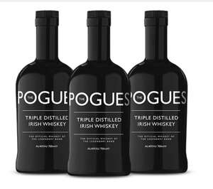 3 Bottles for £45 of the Pogues Irish Whiskey @ Sadlers Ales