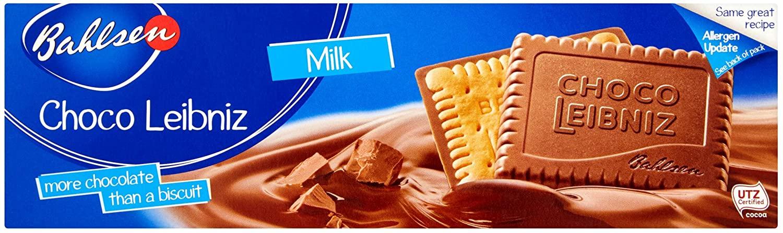 Bahlsen Choco Leibniz Milk Chocolate, 125g - 90p (£4.49 p&p non prime) @ Amazon