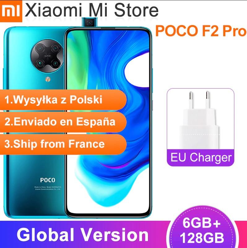 Global Version Xiaomi POCO F2 Pro 5g 6GB RAM 128GB ROM Snapdragon 865 64MP+20MP Camera 6.67 inch Screen £310.23 Xiaomi Mi Store Aliexpress