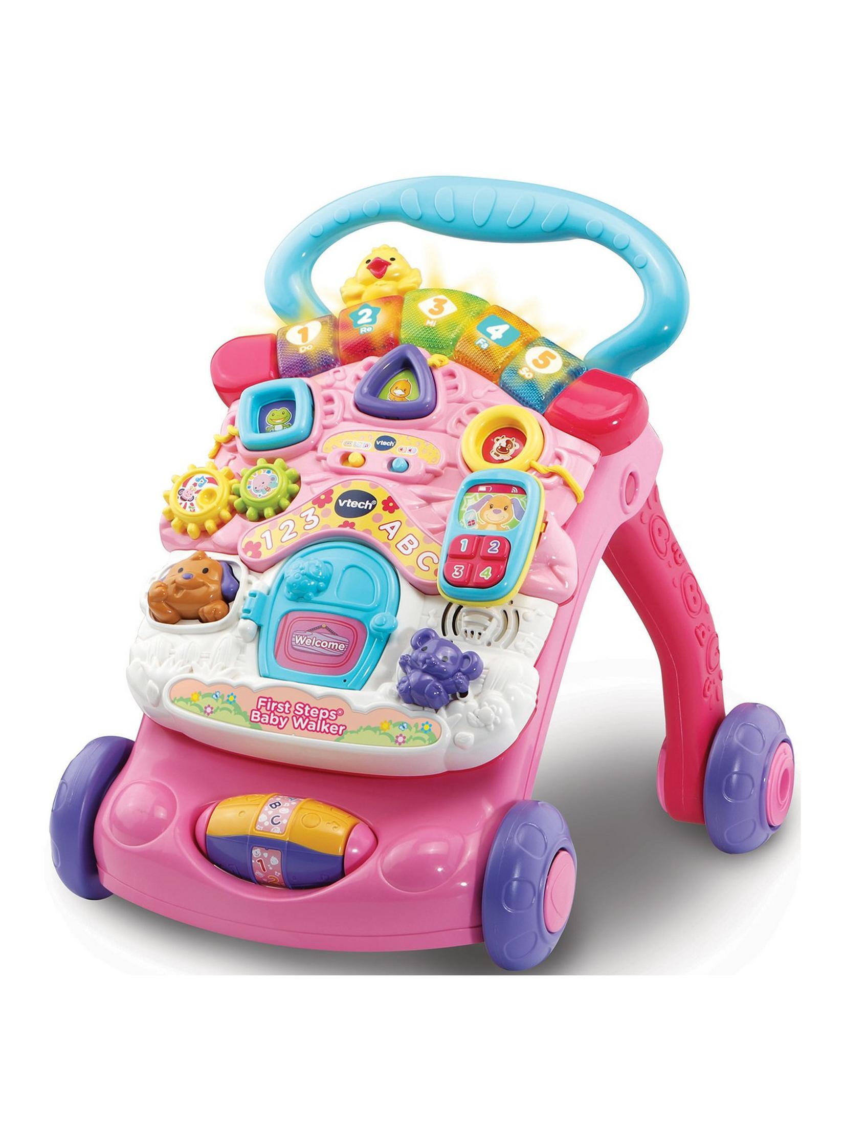 VTech First Steps Baby Walker (pink version) for £23.98 delivered @ Very