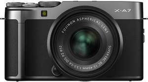 Fujifilm X-A7 Mirrorless Camera with 15-45 Lens Dark Silver - £474.99 @ Amazon