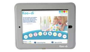 Koo-di iPad/tablet holder for child car travel (fixes to front seat) for £11.99 click & collect @ Argos