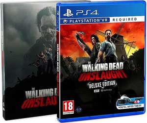 The Walking Dead Onslaught Deluxe Edition [PS4 VR / PS5 Backwards Compatible] Pre-Order £27.95 Delivered @ Coolshop
