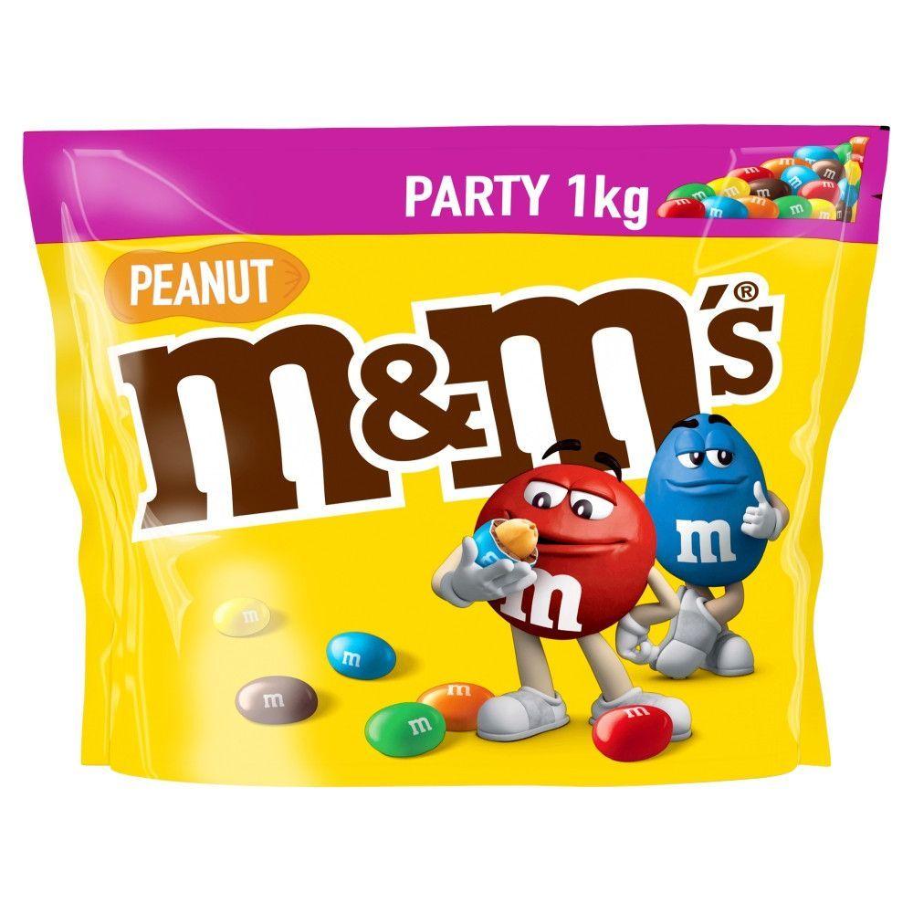 M&M's Peanut 1KG Bag - £4.99 in-store @ Quality Save, Prestwich