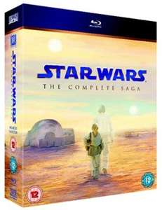 Star Wars: The Complete Saga Ep I-VI - Blu Ray Used - £18.44 with code @ Musicmagpie