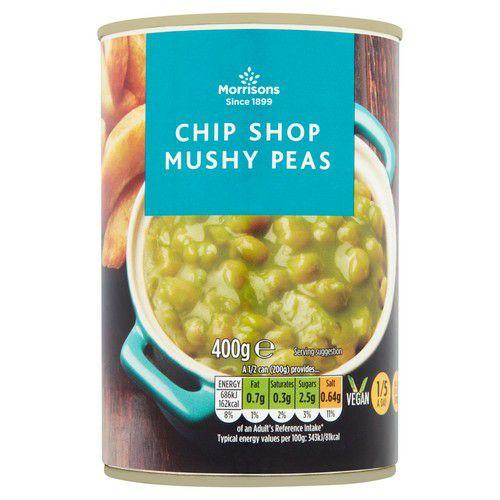 Morrisons Chip Shop Mushy Peas With Mint 400g - £0.29 @ Morrisons