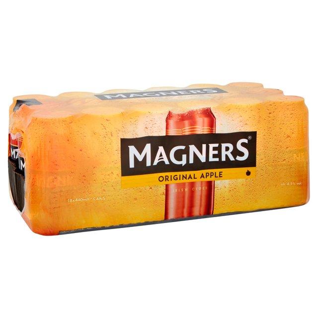 Magners Original Cider Cans 18 x 440ml £9 @ Morrisons