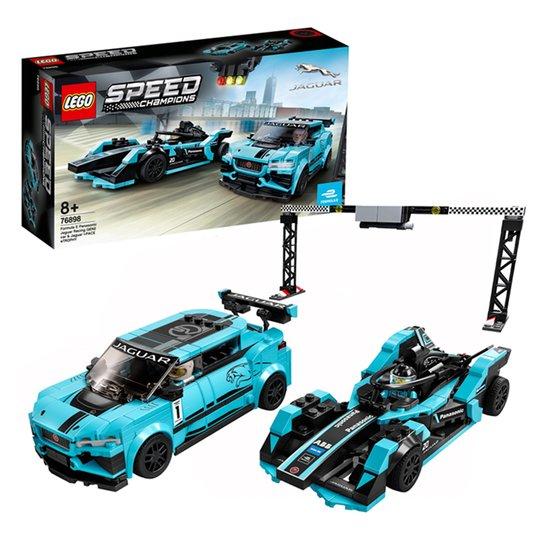 Lego Speed Champions Formula E Panasonic Jaguar Racing 76898 & Lego Dodge Challenger Srt Demon 75893 £23 Tesco