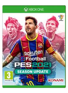 eFootball PES 2021 Season Update [Xbox One £22.50 / PS4 £22.95] Delivered @ Coolshop