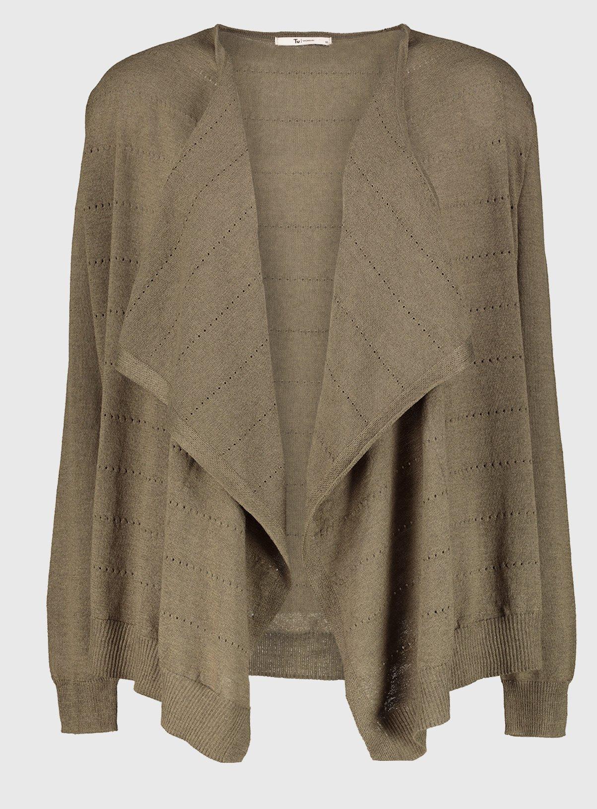 8,10,12,14,20 womens waterfall cardigan - £5.40 @ Argos