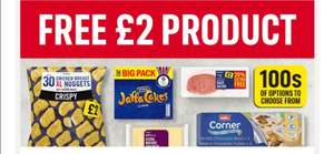 Free Product Worth £2 When Using Code (£25 Spend Online) @ Iceland