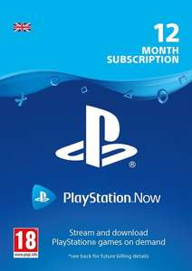 Playstation Now 12 Month Subscription (UK) £34.99 @ CDKeys