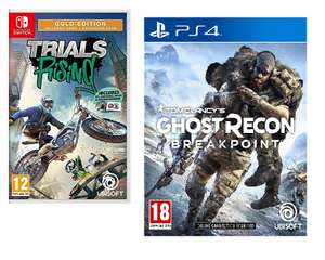 Tom Clancy`S Ghost Recon: Breakpoint - IT (PS4) - £7.65 // Trials Rising (Gold Edition) Nintendo Switch - £7.05 @ Rarewaves