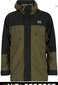Mens' Levi's Lightweight Sport Parka Jacket, Olive Night colourway w / free delivery £41.95 @ Standout