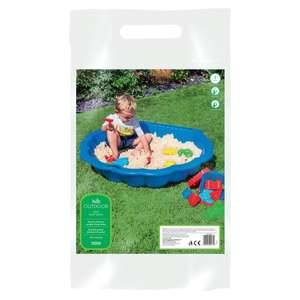 Carousel Lets Play Outdoor Play Sand 10kg for 72p at Tesco