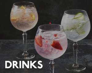Beafeater Restauarant. GIN buy one get one FREE 5pm to 8pm Mon-Fri with Beefeater loyalty Card