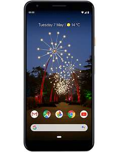Google Pixel 3A (White) £289 @ carphonewarehouse