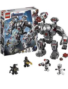 Lego Marvel 76124 - Avengers War Machine Action Figure, Ant-Man Minifigure, Super Heroes Playset £20 Amazon