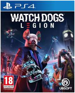 Watch Dogs Legion With Free Steel Book for PS4 and Xbox One pre-order £44.95 at The Game Collection