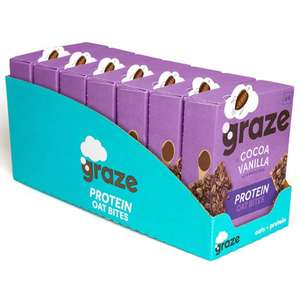 Graze Cocoa Vanilla Protein Bites x 28 (7 packs of 4) just £8.68 delivered (Prime) £13.17 non prime @ Amazon