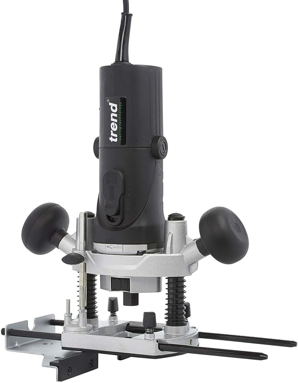 "TREND T4EK 1/4"" Variable Speed Workshop Router and Kitbox, 850 W, 230 V, Black - £69.90 @ Amazon"