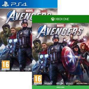 Marvels Avengers (PS4 / Xbox One) £34.99 Delivered @ Monster-shop