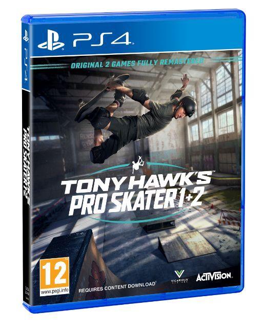 Tony Hawks Pro Skater 1 & 2 PS4 & XB1 £33.85 @ ShopTo