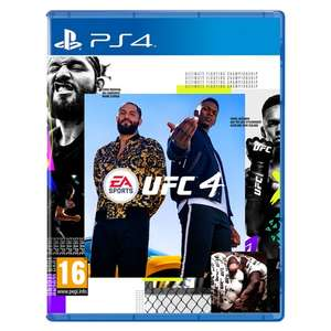 UFC 4 PS4/Xbox one - £34.99 @ Monster Shop