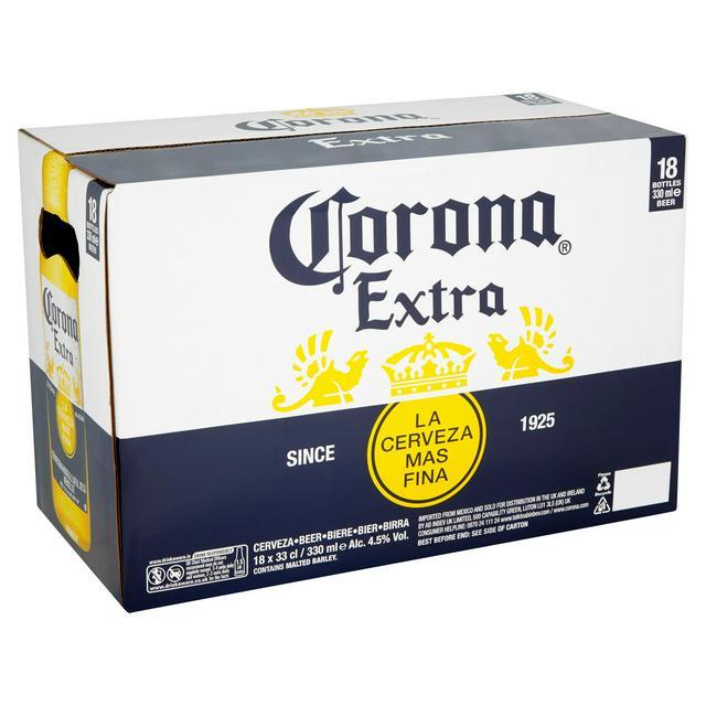 Corona Beer x 18 bottles £12 - Aldi (Loughborough)