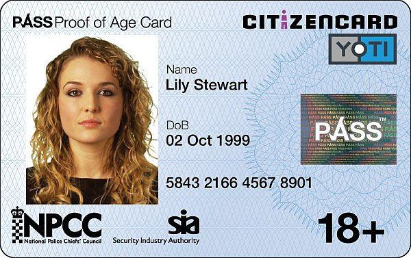 CitizenCard £10 off a YOTI card or ID Card