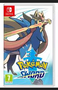 Pokémon sword Nintendo switch game - Used £28.77 @ music magpie eBay