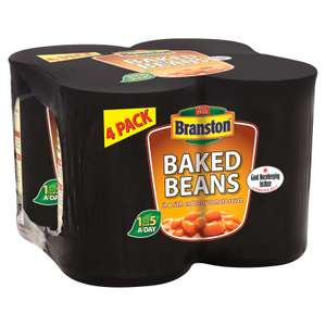 Branston Beans 4 Pack 75p instore @ Asda Nationwide