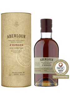 Aberlour A'Bunadh Single Malt Scotch Whisky, 70cl (Batch numbers may vary) £65.45 @ Amazon